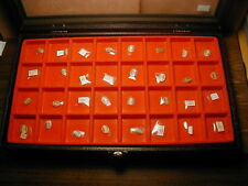 New~32pcs Mix Brand ~ Glass Watch crystal Lot ~Look Photo F Shape & size  #NC 20