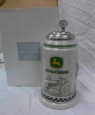 AVON Fine Collectibles JOHN DEERE Beer Stein Numbered 2003