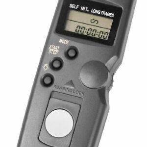 Remote control timer intervalometer for Canon TC-80N3 6D,7D,5D,50D,40D,30D,D60