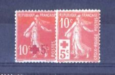 FRANCE STAMP N° 146 / 147 ANNEE COMPLETE 1914 :2 TIMBRES SEMEUSE NEUFS xx TB R32