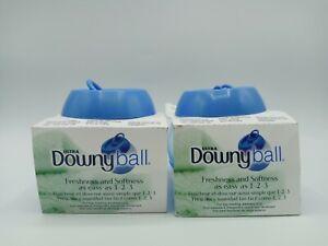 Lot of 2 Downy Ball Automatic Liquid Fabric Softener Dispenser home Laundry