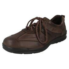 Zapatos informales con cordones de hombre de piel talla 41