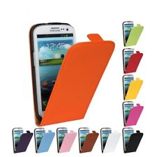 UK Luxury Genuine Real Leather Flip Case Cover for Samsung Galaxy S2 UK FASTPOST