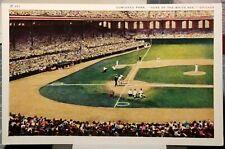 """1940's MLB """"COMISKEY PARK"""" CHICAGO WHITE SOX BASEBALL TEAM STADIUM GAME Postcard"""