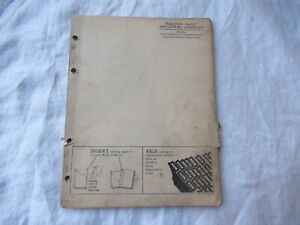 1959 John Deere 440 IC 440IC industrial tractor parts catalog book manual