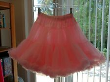 "Sam'S Petticoat Large #815 Nylon Pink 16"" Long 35 Yards 2 Layers New Without"