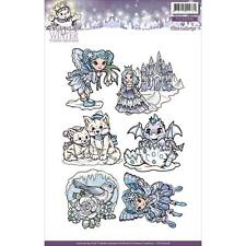 Yvonne Creations Stamps Magical Winter, Fairy, Princess, Castle, Dragon Hatching