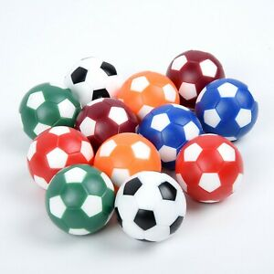 12 Pcs/Set Foosball Sports Indoor Mini Entertainment Competition Ball Game Kit