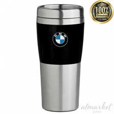 BMW Travel Mug 80-90-208-678 with black ribbon 410ml genuine from JAPAN NEW