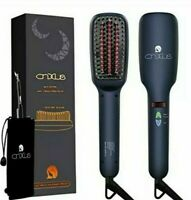 Ionic Hair Straightener Brush CNXUS MCH Ceramic Heating LED Display NEW IN BOX