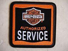 HARLEY DAVIDSON GENUINE AUTHORIZED SERVICE PATCH MECHANIC TECHNICIAN