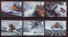 GREAT BRITAIN 2008 SET OF 6 RESCUE AT SEA  UNMOUNTED MINT, MNH