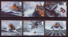 Gran Bretaña 2008 Set de 6 de rescate en el mar Menta desmontado, Mnh