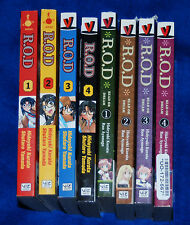 R.O.D: Read or Dream Vol 1,2,3,4 & PAPER SISTERS 1,2,3,4 Hideyuki Kurata MANGA