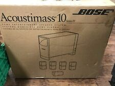 Bose Acoustimass 10 Series Iv Home Theater Speaker System - Used in Box - Cn368