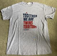 2018 Minnesota Twins Celebrate Diversity Shirt SGA Size M NEW
