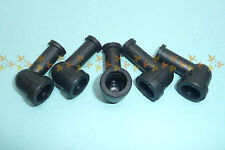Rubber Battery Terminal / Starter Solenoid bolt Covers x5, Motorcycle Bike Trike
