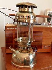 Vintage OPTIMUS 200 Brass Paraffin Kerosene Lantern Pressure Lamp