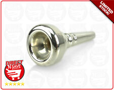 Trumpet Mouthpiece Silver Plated Copper Alloy. BRAND NEW, FREE POSTAGE