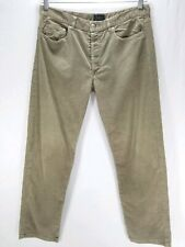 APC Men's Size 33 Corduroy Tan Brown Pants Jeans Rue De Fleurus Paris