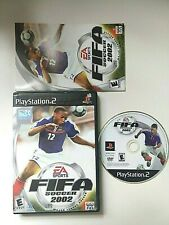 FIFA Soccer 2002 - Playstation 2 PS2 Game - Complete & Tested