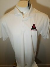 NWT Nike Embroidered Aztec Soccer Short Sleeve POLO SHIRT Medium White
