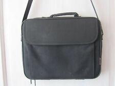 schwarze Notebook Tasche, gepolstert