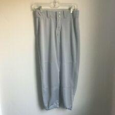 Rawlings Womens Fast pitch Low Rise Softball Pants Size Small Gray New