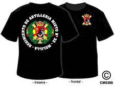 CAMISETAS MILITARES: REGIMIENTO MIXTO DE ARTILLERIA Nº 32 - MELILLA