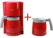SEVERIN KA9746 FILTER COFFEE MACHINE WITH 2 X VACUUM JUGS, RED (N)
