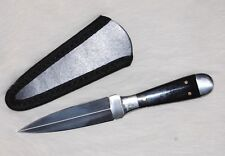 "6-1/2"" Scottish Bosom Dagger Knife - Horn Handle Filework FAST SHIPPING DM-8019"
