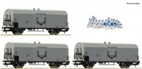 Roco 67118 HO Gauge OBB Refrigerated Milk Wagon Set (3) IV