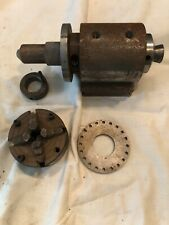 Dividing Head with 3� Jaw Chuck And Collets
