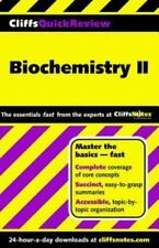 Biochemistry II (Cliffs Quick Review)-ExLibrary