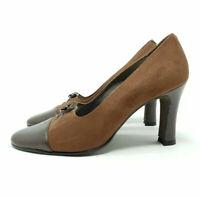 Marian Brown Court Shoes Heels UK 4 EU 37