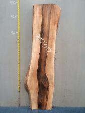 Waney Edge Live Edge Walnut Slab Board Kiln Dried Hardwood 1330 x 300-370 x 50mm