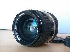 Nikon Nikkor 28mm f2 ,super lichtstark