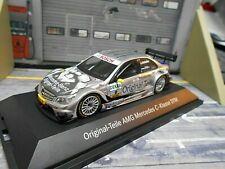 MERCEDES BENZ C-Klasse C AMG DTM 2008 # Schneider Originalteile Minichamps 1:43