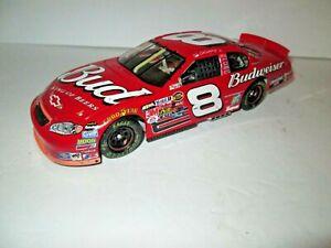 """Die Cast Dale Earnhardt Jr #8 Budweiser 2004 Monte Carlo """"As Raced"""", 1:24 scale"""