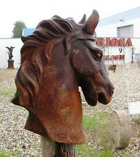 Neu ! Pferdekopf Pferdebüste Skulptur Pferd Gusseisen
