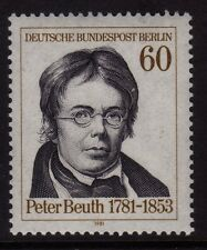 Germany Berlin 1981 Peter Beuth SG B627 MNH