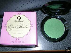 Too Faced Eye Shadow JEALOUS Green Shimmer New BOX