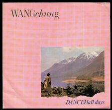 "WANG CHUNG - SPAIN 7"" GEFFEN 1984 - DANCE ALL DAYS / THERE IS A NATION - PROMO"