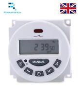 12v/24v/110v/220v LCD Digitale Programmabile Controllo Power Timer a Relè
