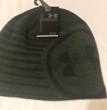 Under Armour® Men's  Beanie Olive Hat Winter Fall