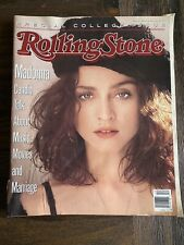 Rolling Stone Magazine Madonna Issue # 548 March 23, 1989