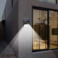 Solar Power Motion Sensor Garden Outdoor Floodlight LED PIR Security Light Save
