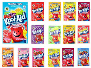 Kool Aid Sachets American Candy Sweets x20 Sachets