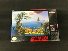 Equinox Super Nintendo New Sealed SNES
