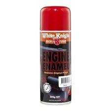 White Knight High Temp 300g Cherry Red Engine Enamel Spray Paint
